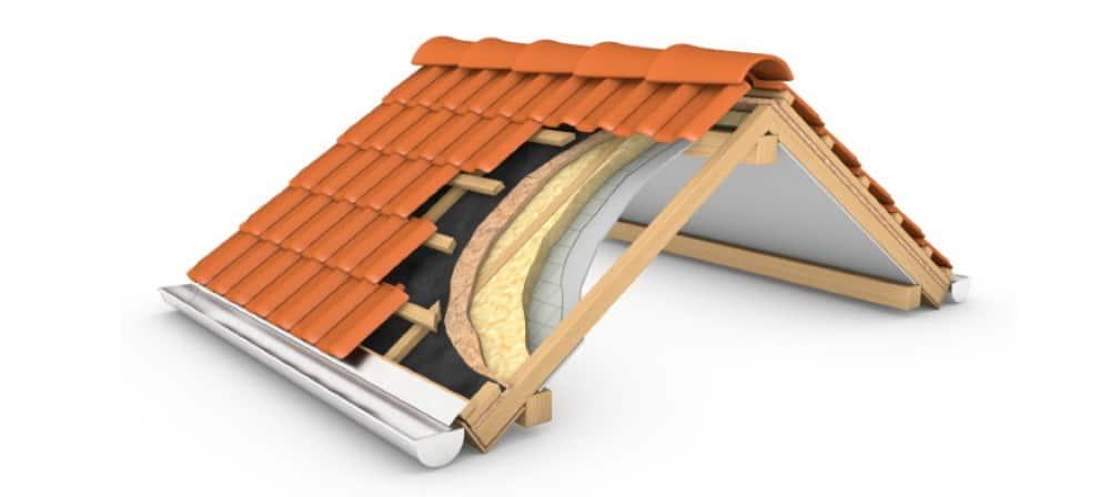 Dämmung des Daches